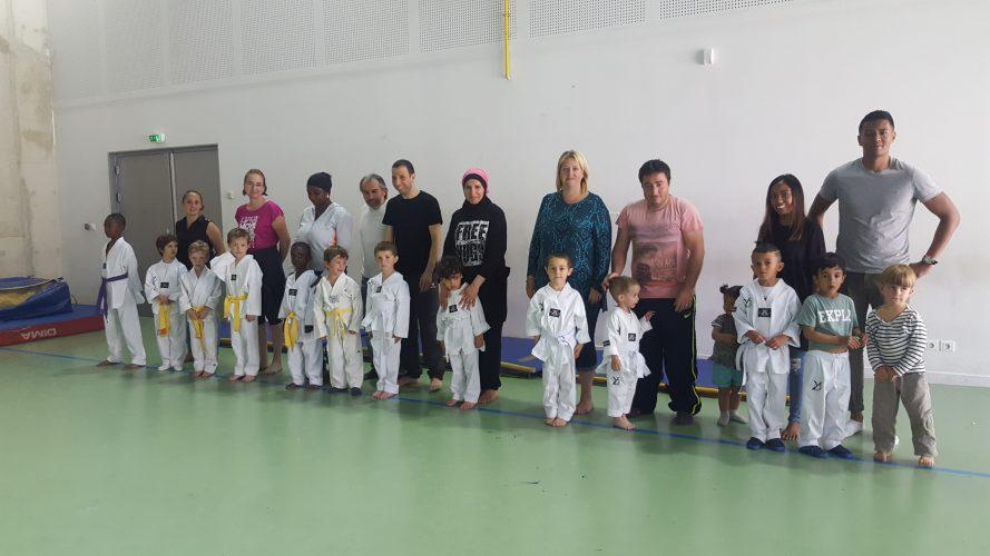 1er cours Parents / Enfants sur la section DARIUS