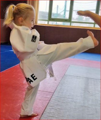 Ava, 3 ans... Trophée des sports 2018
