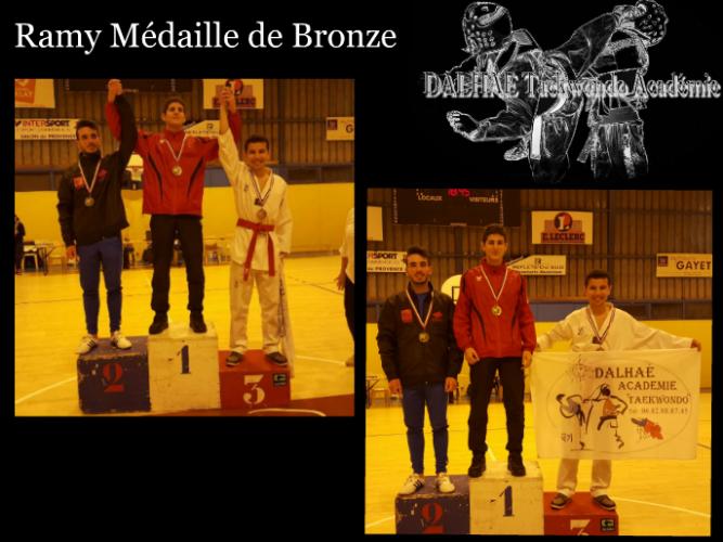 Médaille de Bronze et qualifié