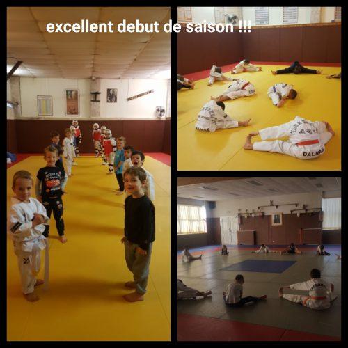 1er cours à Roquefort la Bédoule