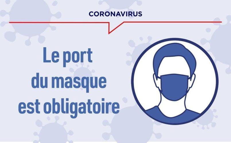 Port du masque obligatoire !