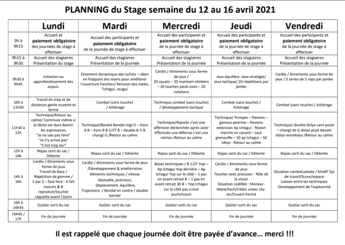 Stage Carnoux